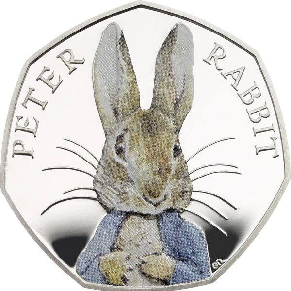 Royal Mint Unveils Peter Rabbit Coin – in Color! : http://thelondoncoincompany.com/Themed-Coins/Beatrix-Potter-Coins