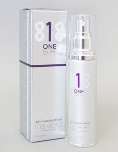 Anti Aging Serum One Truth 818 50ml Bottle and Packaging.  The guys did a great job putting this together.  Love any comments on the look and feel of it...