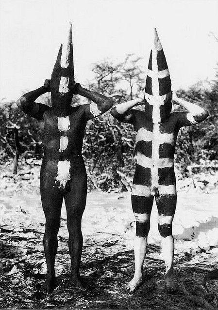 La maravilla del body painting de los Onas o Selk'nam