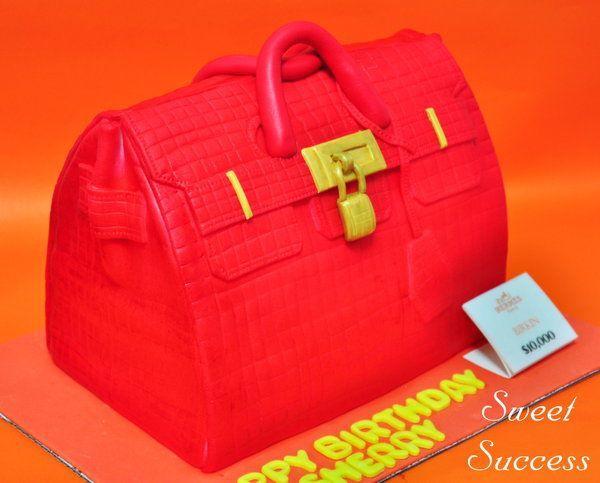 Hermes Birkin Bag Cake 1