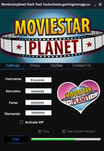 Moviestarplanet cheats and hack Get the best one
