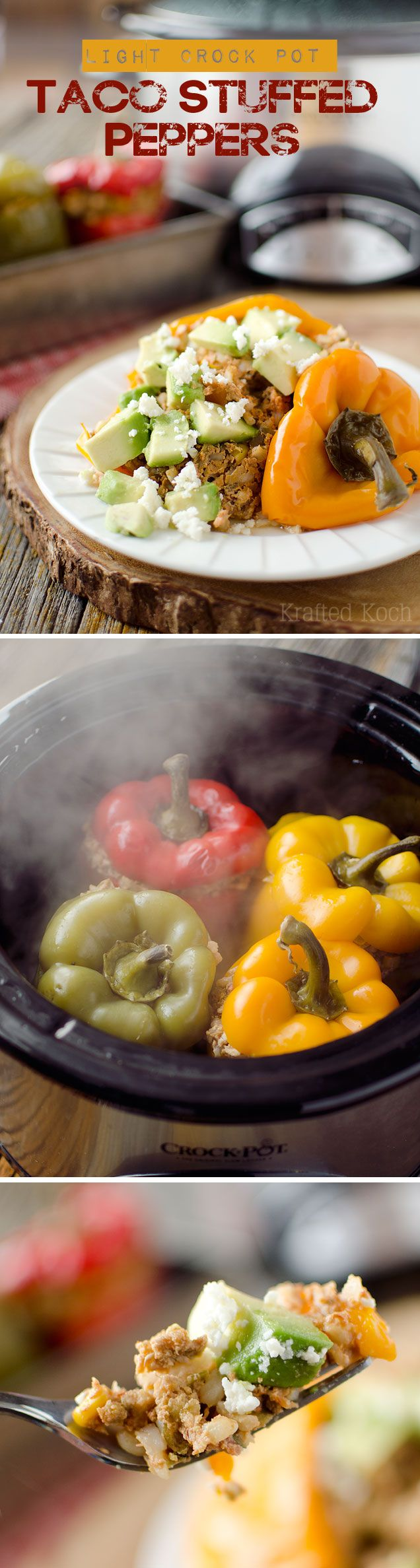 recipe: stove top stuffed peppers in tomato sauce [23]