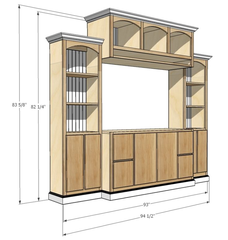 JRL Woodworking   Free Furniture Plans and Woodworking Tips    This site has free plans for furniture, shelves, and other DIY sites.  It's amazing!