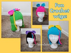 http://www.ravelry.com/patterns/library/fun-wig---silly-wig---crochet-wig