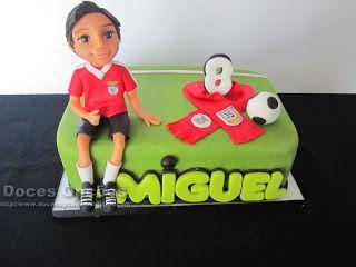 Doces Opções: Bolo do 8º aniversário do Miguel
