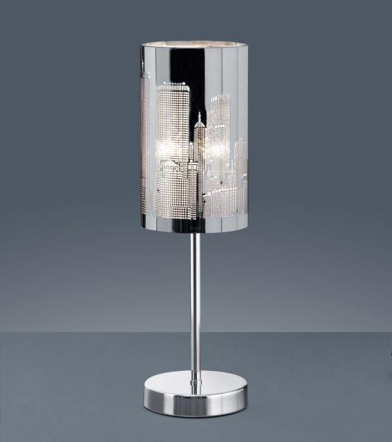 5984 - TRIO stolová lampa dotyková - mrakodrapy - 400mm