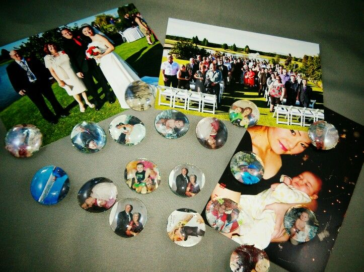 Mini memory bubble magnet $3.  Customize photos of your special memories!