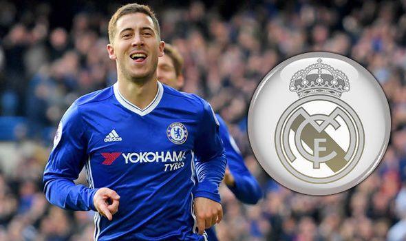 Eden Hazard Real Madrid transfer news