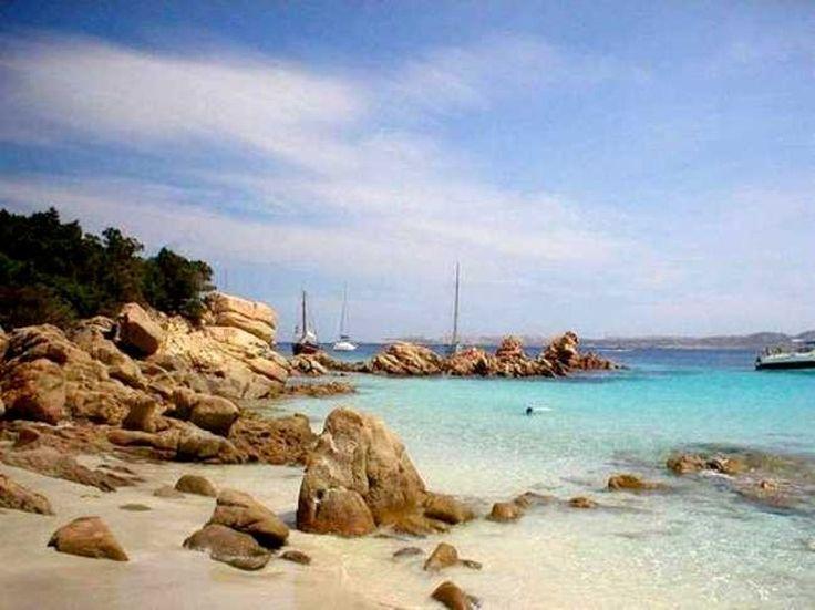 Spargi - pláž Spargi