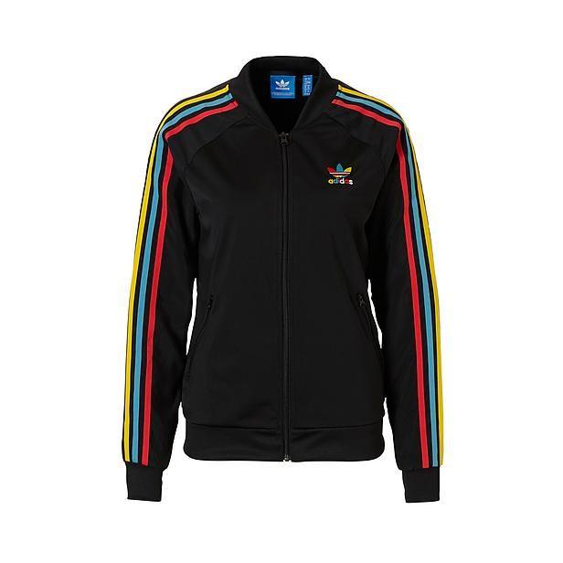 promo code 158db 803ba adidas originals vest black multi colour Bestel nu bij wehkamp.nl   vests  cardigans hoodie vest   Pinterest