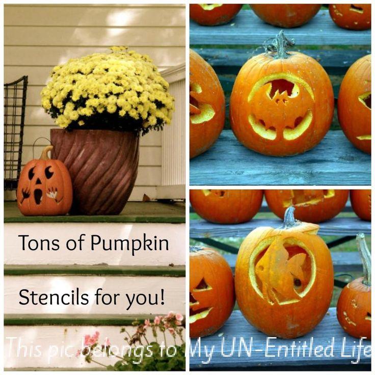 400+ free Pumpkin Carving Stencils