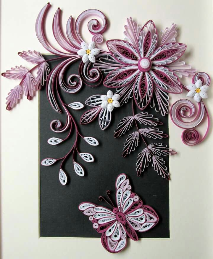 quilling - just gorgeous #paper
