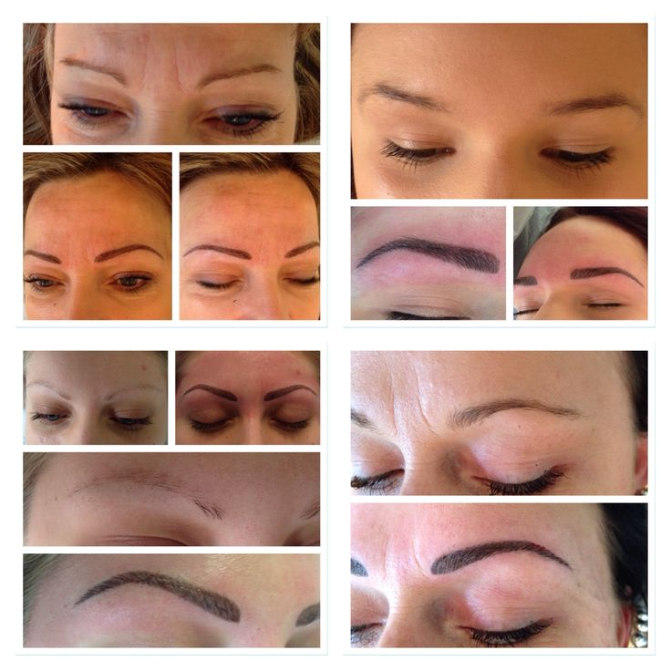 My work, brows
