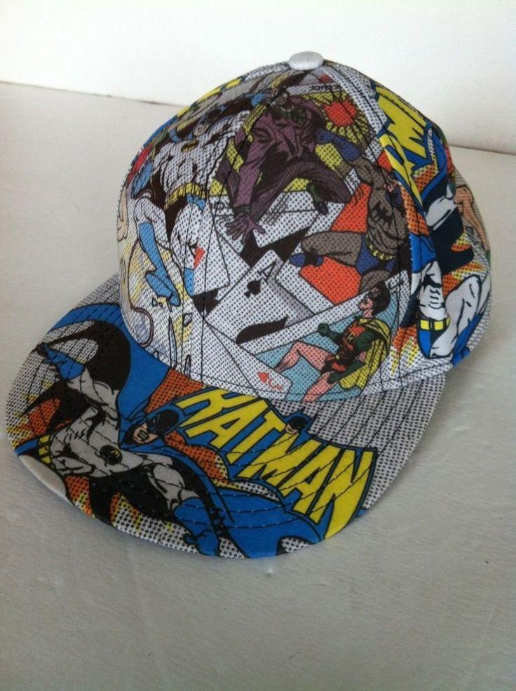 Batman Baseball cap Size 10  DC Comics The Dark Knight The Joker Comic Book  | eBay