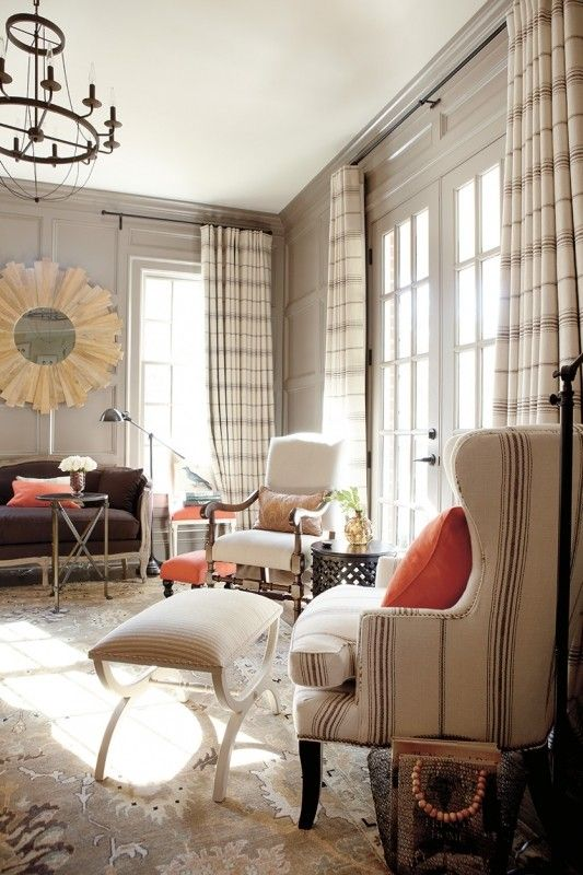 Plaid Curtains And Drapes - Foter