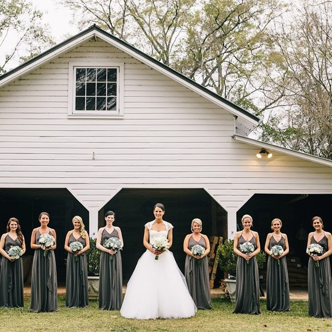 234 best Gray for the Wedding Day... images on Pinterest | Wedding ...