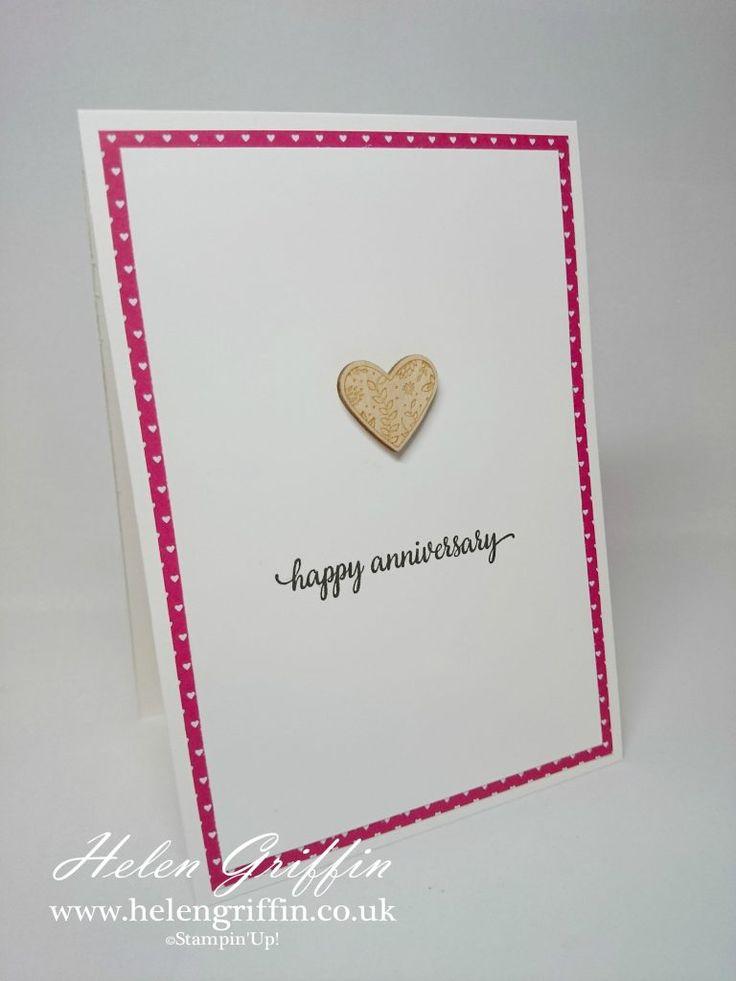 Tutorial | Clean & Simple Card & Handy Hints – Helen Griffin