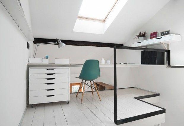 Tandartspraktijk wordt klein appartement met zonnige keuken - Roomed | roomed.nl