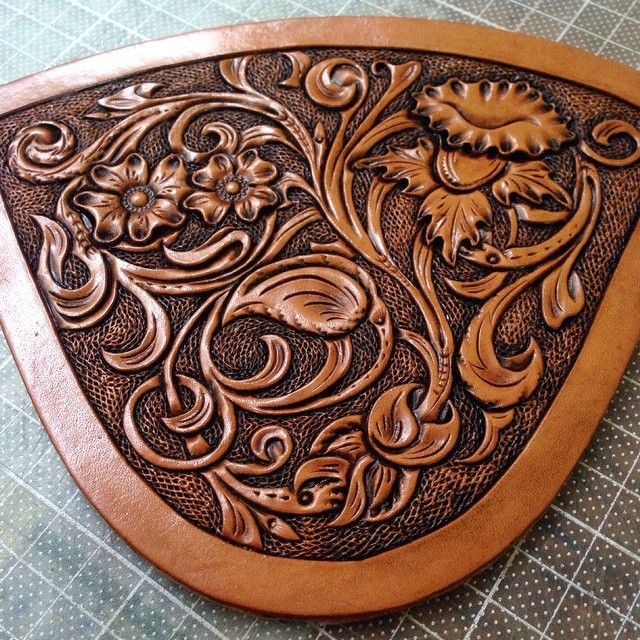 Images about leather carving patterns on pinterest