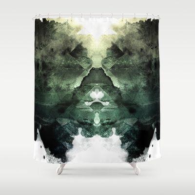 Test de Rorschach Shower Curtain by Acefecoo - $68.00