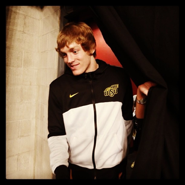 Ron Baker hopes to #SHOCKOHIOSTATE in the #Elite8 on his 20th birthday. #WATCHUS #PlayAngry