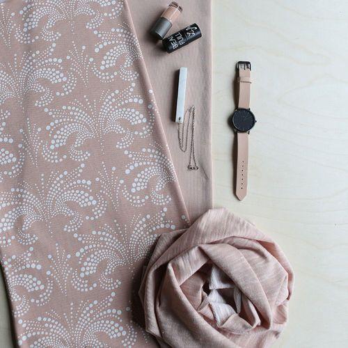 HUMU, Maple Sugar - Vanilla | NOSH Women Autumn 2016 Fabric Collection is now available at en.nosh.fi | NOSH Women syysmalliston 2016 uutuuskankaat saatavilla verkosta nosh.fi
