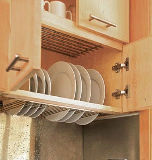 Dish Rack Drainer | Easy Organization Ideas for the Home