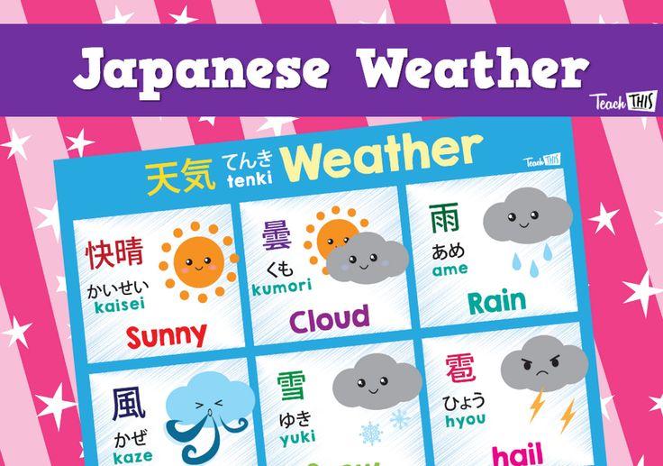 Japanese - Weather