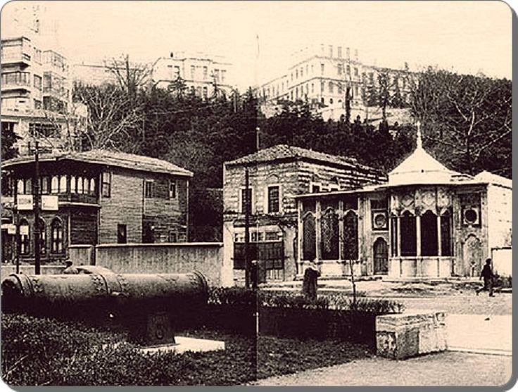 Dolmabahçe - Mehmet Emin Ağa Sebili ve çeşmesi - 1930 lar