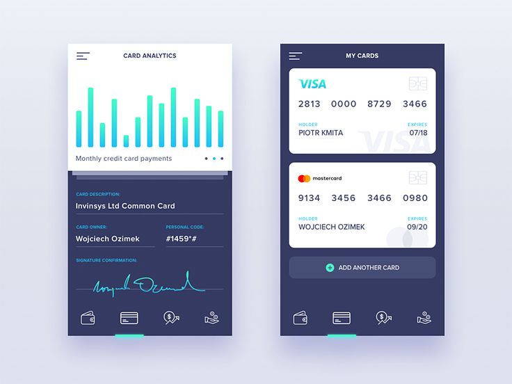 Company Finanance Manager - Mobile Application by Piotr Kmita