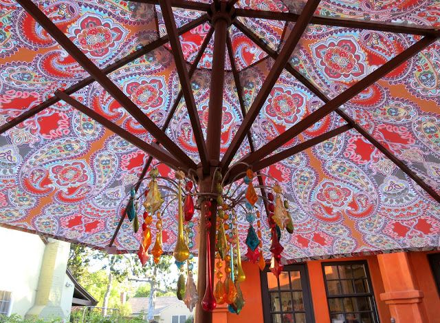 Amazing ReVamp Thai Ethnic Boho Indian Moroccan Patio Outdoor Backyard. World Market  Cost Plus