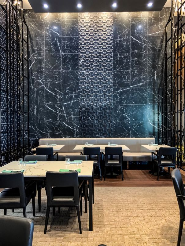 A Sophisticated Asian Restaurant By Tandem Design Restaurant