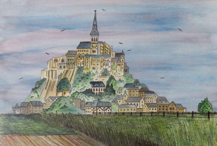 Mont St Michel - Colette Marie