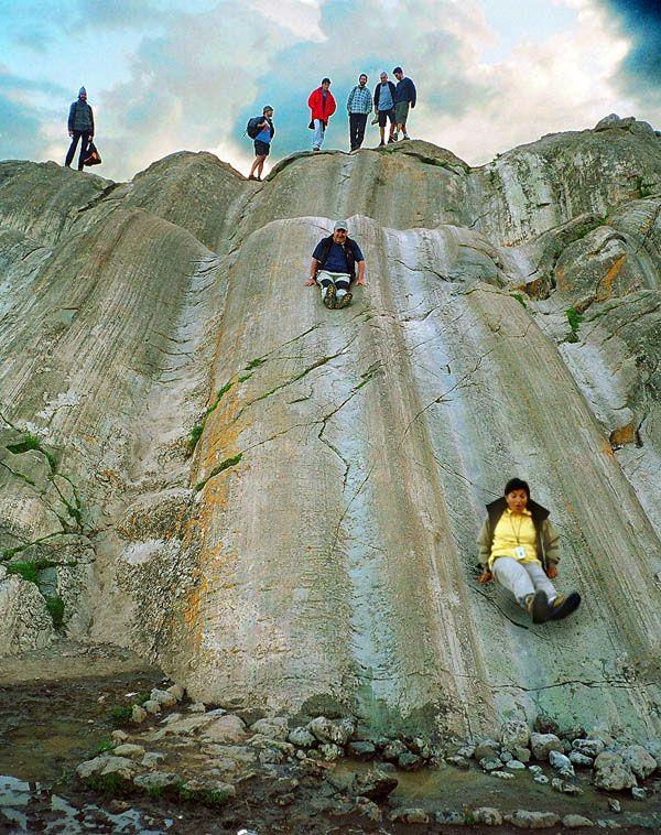 Rocksliding in Inca land - Sacsayhuaman, Cusco