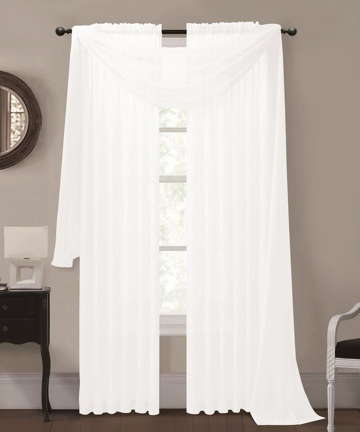 Curtain Ideas With Voile: 1000+ Ideas About Voile Curtains On Pinterest