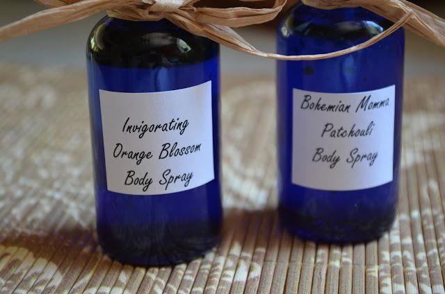 How To Make Homemade Body Spray Using Essential Oils