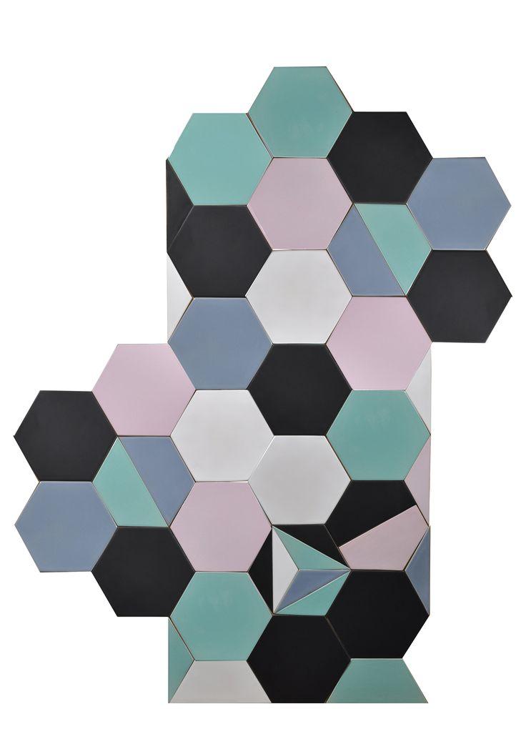 "Handmade tiles ""hexagon"". Design and construction Inżynieria Designu."