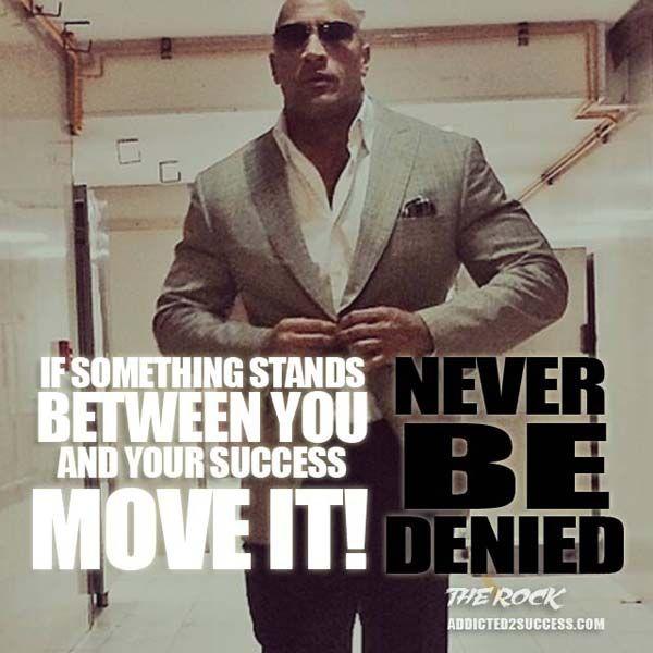 Dwayne Johnson Motivation Quote