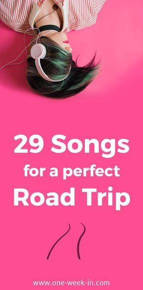 29 Songs about Traveling and Adventure - The Perfect Road Trip Songs https://one-week-in.com/29-songs-about-traveling/ #songs #travelsongs #travelplaylist #epicplaylist #playlist #travelmusic #songsfortravels #roadtrip #roadtripsongs #songsroadtrip