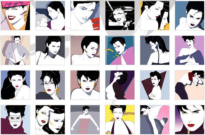 the awesomely gorgeous artwork of Patrick Nagel (did the cover for Duran Duran's Rio album).: 80S, Art Things, Duran Duran, Awesome Gorgeous, Gorgeous Artworks, Patrick Nagel, Patrick'S Nagel, Rio Album, 80 S