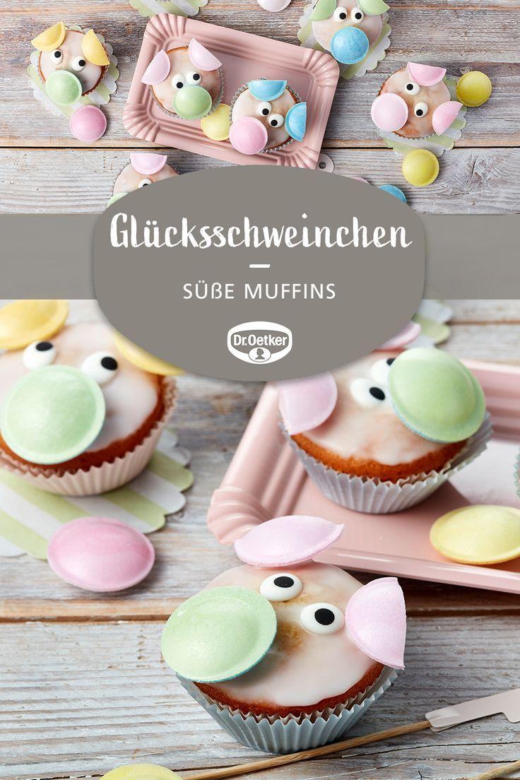 Sweet Lucky Pigs Kunterbunte Kinder Rezepte Muffins