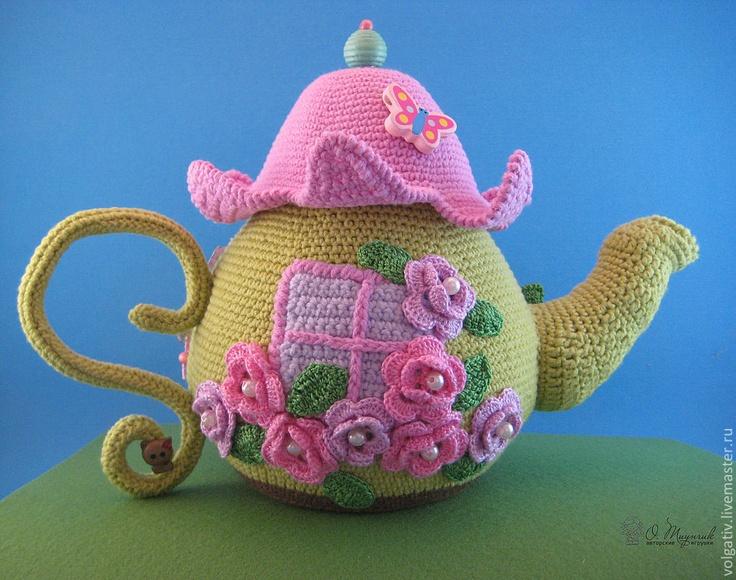 Charming Crochet Tea Cozy