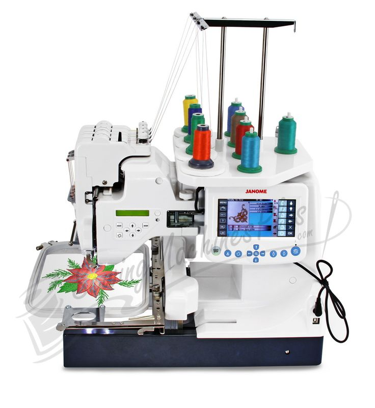 janome 6 needle embroidery machine