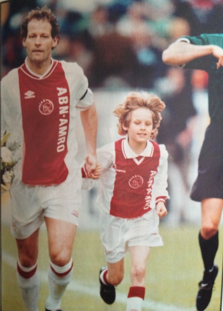 Danny & his Son Daley Blind. First Son to ever follow up his father at Ajax