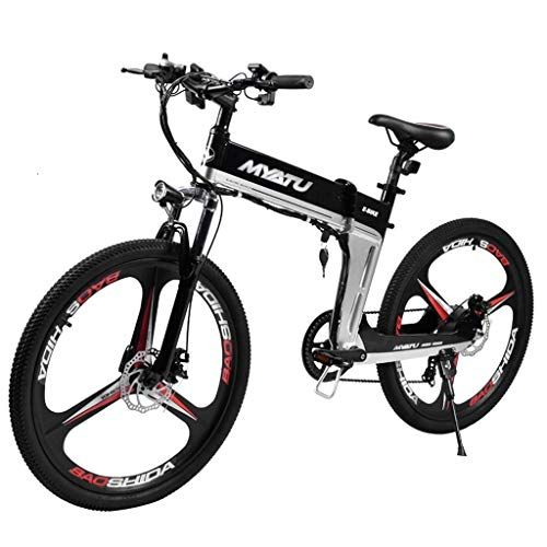 Lithium Electric Folding Electric Bicycle 26 Inch Power Mountain