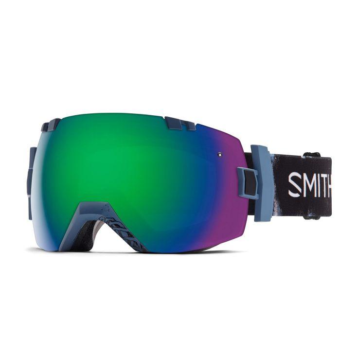 Men's Smith Goggles - Smith I/OX Goggles. Xavier Sketchy - Green Solex