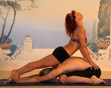 17 best images about partner/couples yoga poses on