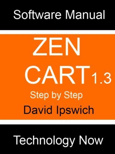 #Zen Cart Manual (Computer Software Manuals) by David Ipswich. $3.99. Publisher: Technology Now Ltd