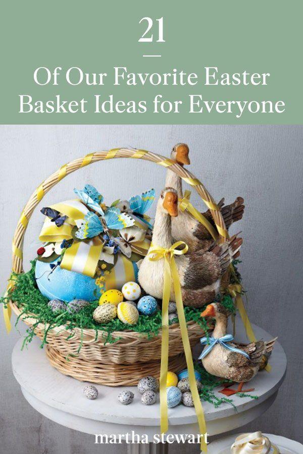 22 Of Our Favorite Easter Basket Ideas In 2021 Easter Baskets Easter Inspiration Easter
