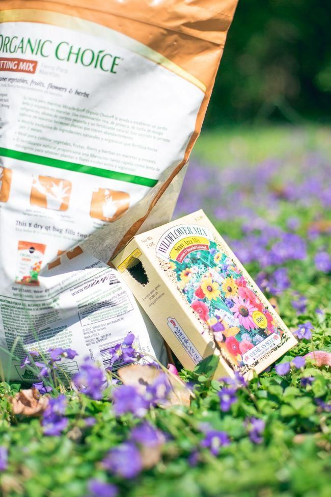 Spread a little spring with #DIY wildflower seed bombs! Perfect for kids... and adults who like to get their hands dirty :D